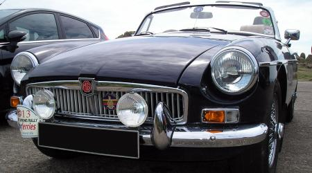 Voiture de collection « MGB »