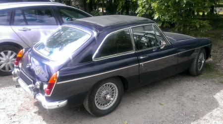 Voiture de collection « MG MGB GT »