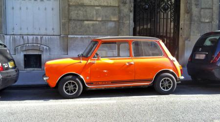 Voiture de collection « Mini 1275 GT Orange »