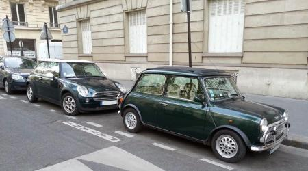 Voiture de collection « Mini et Maxi Mini ! »