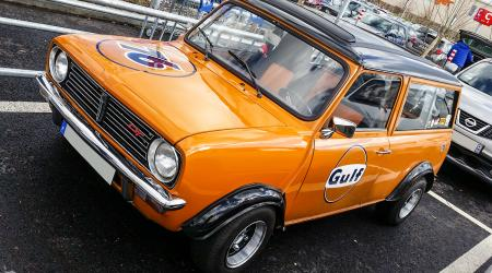 Voiture de collection « Mini Clubman GT Gulf »