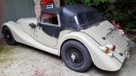 Voiture de collection « Morgan »