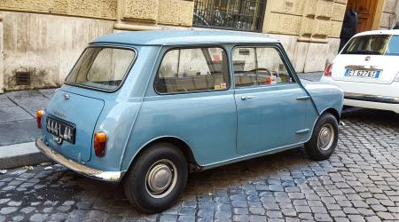 Voiture de collection « Morris Mini Minor »