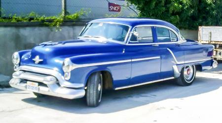 Voiture de collection « Oldsmobile 98 1953 »
