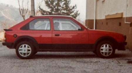 Voiture de collection « Opel Kadett 1.6 SR 1982 »