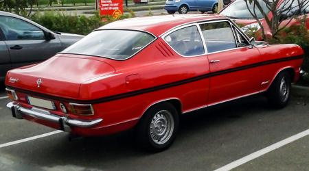 Voiture de collection « Opel Kadett Rallye Luxe »