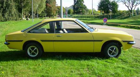Voiture de collection « Opel Manta 1200 SR 1977 »