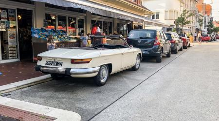 Voiture de collection « Panhard 24CT Cabriolet »