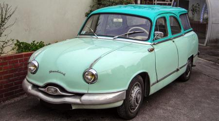 Voiture de collection « Break PANHARD Dyna Z Pichon Parat 1959 »