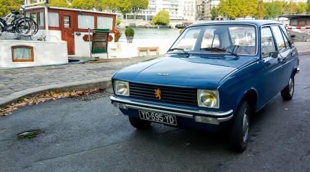Voiture de collection « Peugeot 104 GL 1977 »