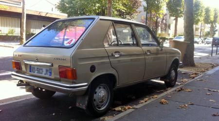 Voiture de collection « Peugeot 104 GL »