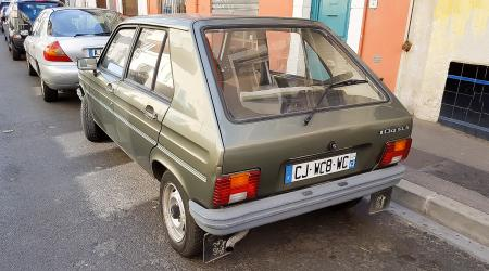Voiture de collection « Peugeot 104 GLS »