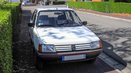 Voiture de collection « Peugeot 205 1987 »