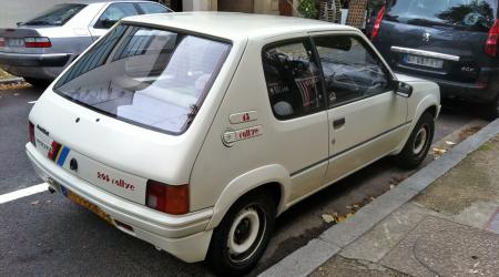 Voiture de collection « Peugeot 205 Rallye »