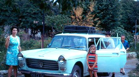 Voiture de collection « Peugeot 404 break familiale »