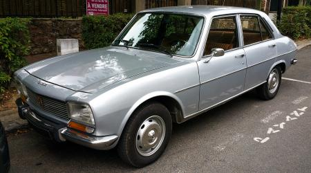 Voiture de collection « Peugeot 504 GL »