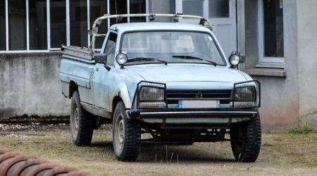 Voiture de collection « Peugeot 504 Pickup 4x4 »