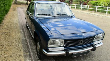 Voiture de collection « Peugeot 504 Ti 1979 »
