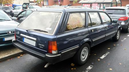 Voiture de collection « Peugeot 505 GTI Break »