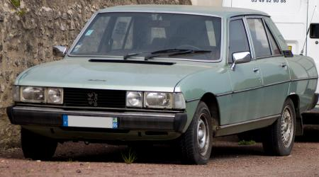 Voiture de collection « Peugeot 604 TD »