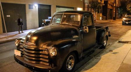 Voiture de collection « Chevrolet Pickup Adavance Design »