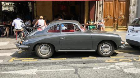 Voiture de collection « Porsche 356 SC »