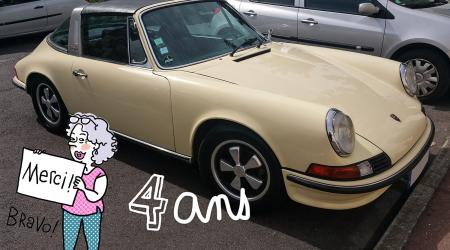 Voiture de collection « Porsche 911 2,4l Targa »