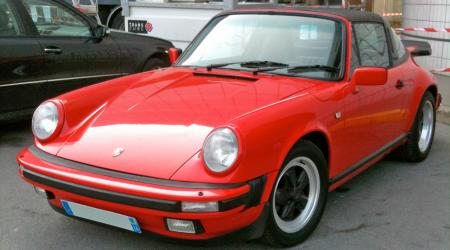 Voiture de collection « Porsche 911 Targa »