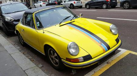 Voiture de collection « Porsche 911T Targa »