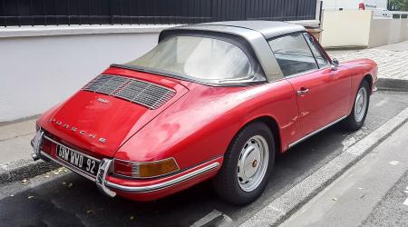 Voiture de collection « Porsche 912 Targa »