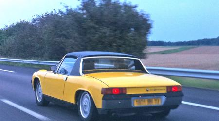 Voiture de collection « Porsche 914 »