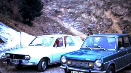 Voiture de collection « Renault 12 et Simca 1100 »