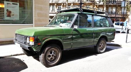 Voiture de collection « Range Rover »