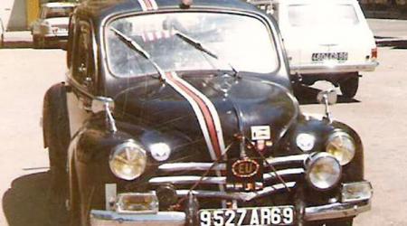 Renault 4cv - 1ère voiture