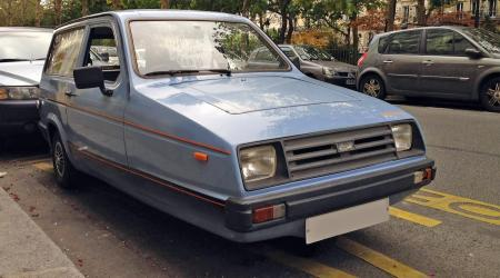 Voiture de collection « Reliant Robin »