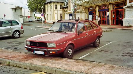 Voiture de collection « Renault 20 Turbo D »