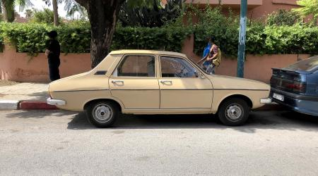 Voiture de collection « Renault 12 TL »
