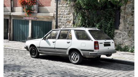 Voiture de collection « Renault 18 Turbo break »