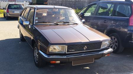 Voiture de collection « Renault 20 TX 2.2 litres »