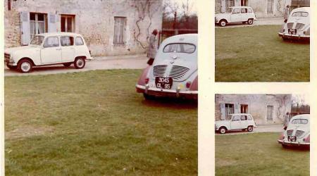Voiture de collection « Renault 4 et Renault 4 CV »