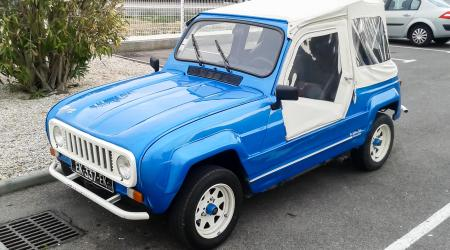 Voiture de collection « Renault 4 JP4 »