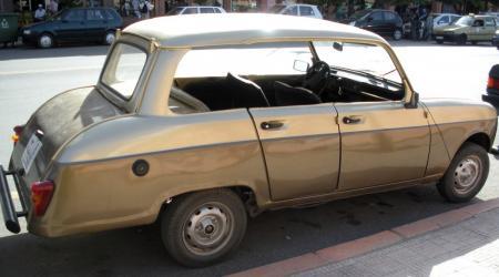 Renault 4 marocaine avec coffre !!