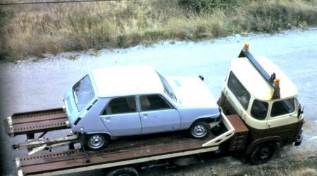 Voiture de collection « Renault 5 GTL 4 portes et Saviem SG5 »