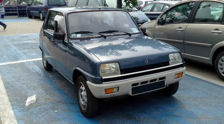 Voiture de collection « Renault 5 TL »