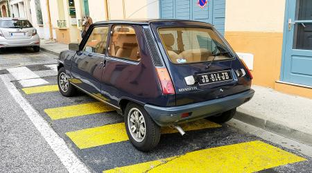 Voiture de collection « Renault 5 TX »
