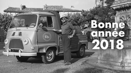 Voiture de collection « Renault Estafette plateau »