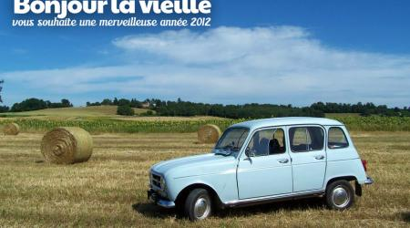 Voiture de collection « Renault R4 Export 1972 »