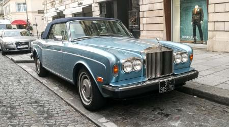 Voiture de collection « Rolls Royce Corniche »