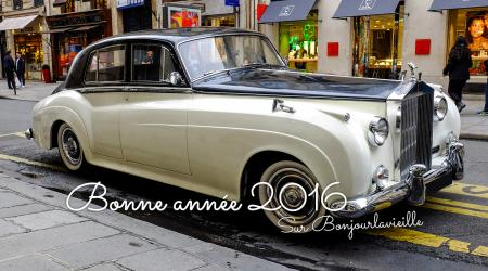 Voiture de collection « Rolls-Royce Silver Cloud »
