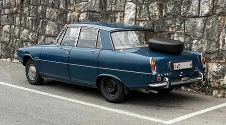 Voiture de collection « Rover P6 2000 TC »